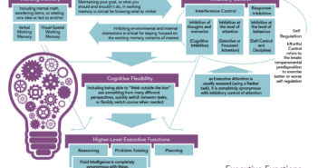 research features executive functions